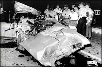 Celebrity car crash death pictures
